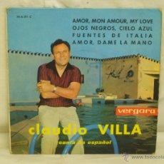 Discos de vinilo: CLAUDIO VILLA. Lote 44158449