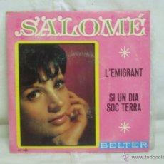 Discos de vinilo: SALOMÉ. Lote 44158561