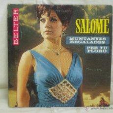 Discos de vinilo: SALOMÉ. Lote 44158578