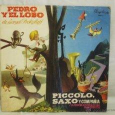 Discos de vinilo: PEDRO Y EL LOBO. Lote 155841852