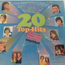 Discos de vinilo: 20 TOP-HITS. Lote 44162133