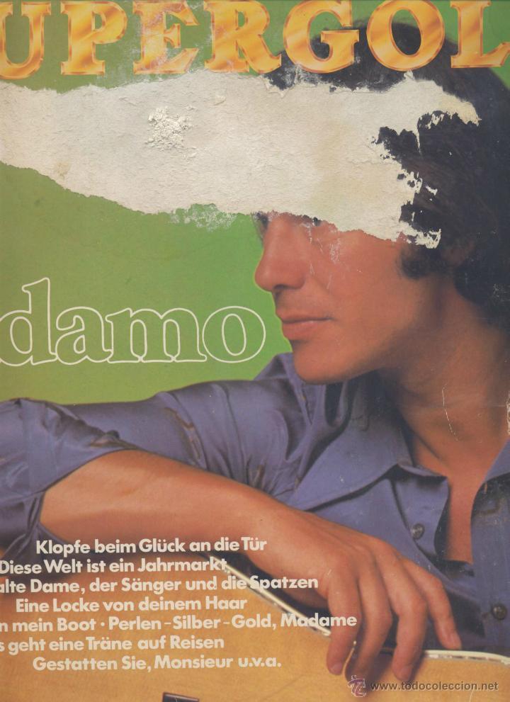 ADAMO- EN ALEMAN (Música - Discos - LP Vinilo - Cantautores Extranjeros)