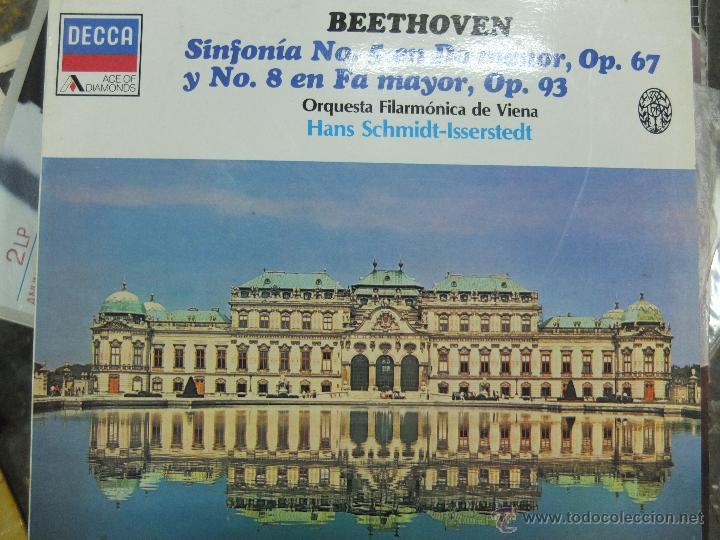 BEETHOVEN -LP (Música - Discos - LP Vinilo - Clásica, Ópera, Zarzuela y Marchas)