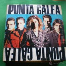 Discos de vinilo: LP - PUNTA GALEA - MISMO TITULO (SPAIN, EPIC RECORDS 1988) PEPETO. Lote 44164504