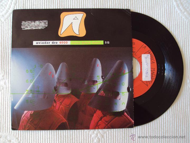 AVIADOR DRO, VIVIR PARA MORIR (LA FABRICA MAGN 1991) SINGLE PROMOCIONAL (Música - Discos - Singles Vinilo - Grupos Españoles de los 70 y 80)