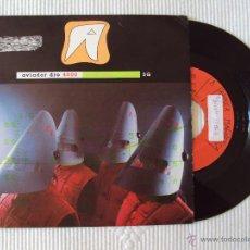 Discos de vinilo: AVIADOR DRO, VIVIR PARA MORIR (LA FABRICA MAGN 1991) SINGLE PROMOCIONAL. Lote 44164615