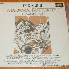 Discos de vinilo: PUCCINI- MADAMA BUTTERFLY. Lote 143807466