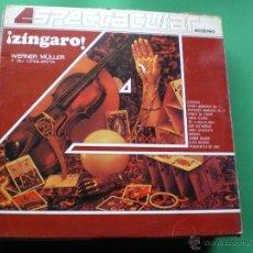Discos de vinilo: ZINGARO. WERNER MULLER Y SU ORQUESTA. EDT. DECCA LP. Lote 44173097