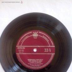 Discos de vinilo: MENDELSSOHN, MARCHA NUPCIAL.BIZET, HABANERA DE CARMEN.RAMEAU, LE TAMBOURIN. CID PCC 1714(1958)33 RPM. Lote 44176059