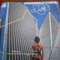 Discos de vinilo: YES - WONDEROUS STORIES/PARALLELS HISPAVOX AÑO 1977. Lote 44176759