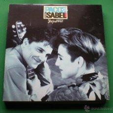 Discos de vinilo: PACO & ISABEL LP 1991 SIGUEME CON ENCARTES PEPETO. Lote 44178474