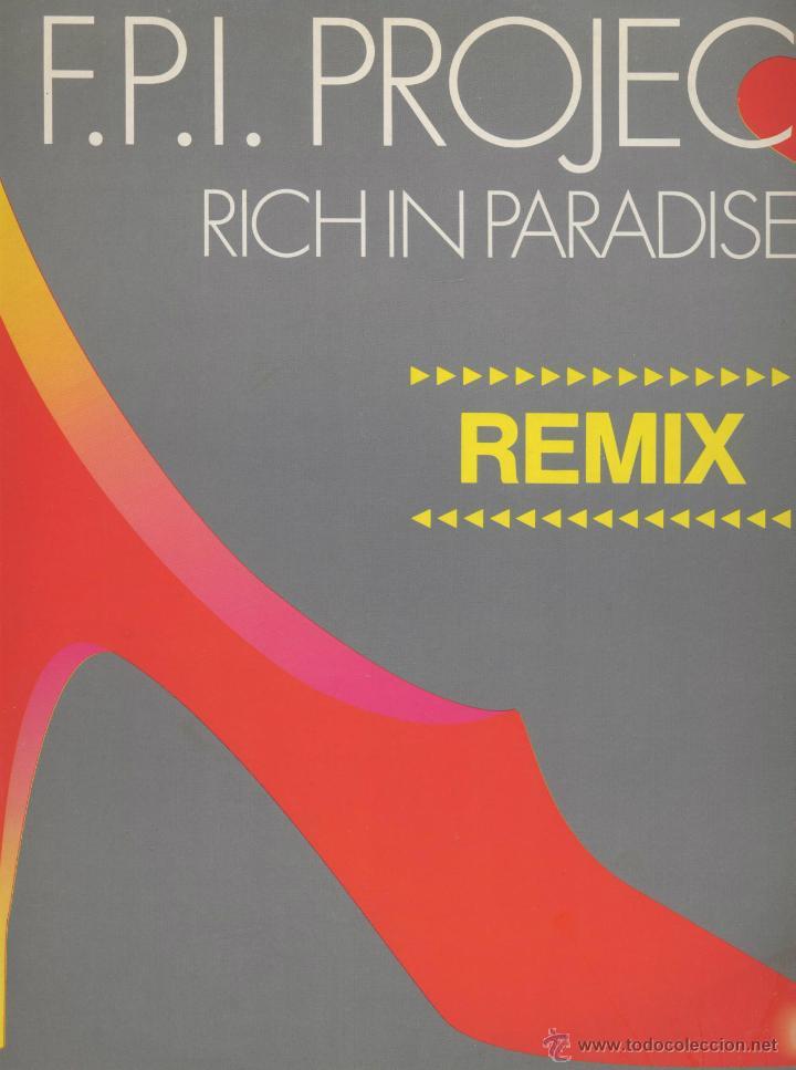 F.P.I. PROJECT- RICH IN PARADISE (Música - Discos - LP Vinilo - Techno, Trance y House)