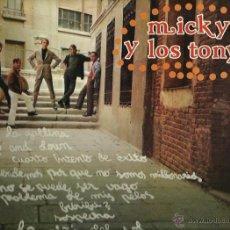 Discos de vinilo: MIKY Y LOS TONYS LP SELLO CAUDAL AÑO 1977. Lote 44180129