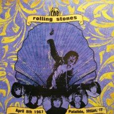 Discos de vinilo: THE ROLLING STONES LP COLOR LIVE MILAN 08.04.1967 NUEVO. Lote 44181498