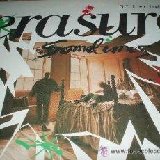 Discos de vinilo: ERASURE - SOMETHING- . Lote 44181786