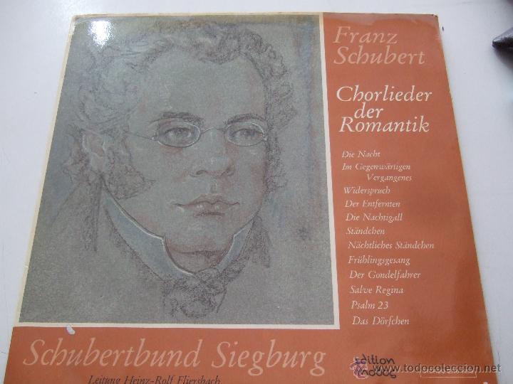 FRANZ SCHUBERT (Música - Discos - LP Vinilo - Otros estilos)