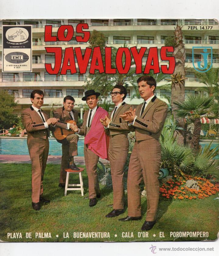 JAVALOYAS, EP, EL POROMPOMPERO + 3, AÑO 1965 (Música - Discos de Vinilo - EPs - Grupos Españoles 50 y 60)