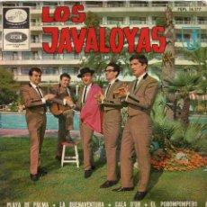 Discos de vinilo: JAVALOYAS, EP, EL POROMPOMPERO + 3, AÑO 1965. Lote 44185552