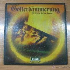 Discos de vinilo: EL OCASO DE LOS DIOSES.GÖTTERDAMMERUNG.WAGNER. 5 LPS. DECCA SXL/SET 292-297. 1965.. Lote 44187932