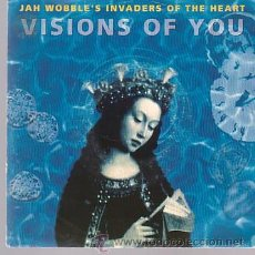Discos de vinilo: JAH WOBBLE'S INVADERS OF THE HEART - VISIONS OF YOU - SINGLE WEA ALEMANIA 1991. Lote 44188991