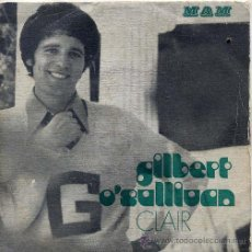 Dischi in vinile: GILBERT O'SULLIVAN / CLAIR / WHAT COULD BE NICER / MATRIMONY + 1 (EP PORTUGUES). Lote 44191501