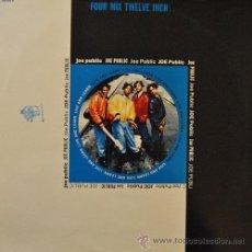 Discos de vinilo: JOE PUBLIC - LIVE AND LEARN REMIXES - MAXI SINGLE DE VINILO DE 12 PULGADAS RAP HIP HOP. Lote 44198246