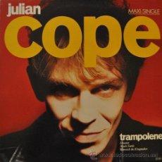 Discos de vinilo: JULIAN COPE - TRAMPOLENE - MAXI SINGLE DE VINILO DE 12 PULGADAS . Lote 44198640