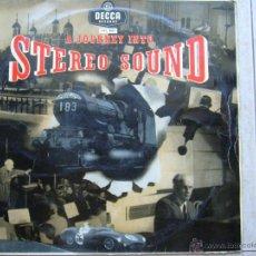 Discos de vinilo: A JOURNEY INTO STEREO SOUND. Lote 44202487