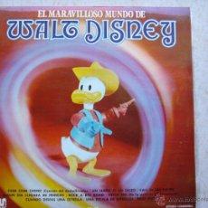 Discos de vinilo: EL MARAVILLOSO MUNDO DE WALT DISNEY. Lote 44202505