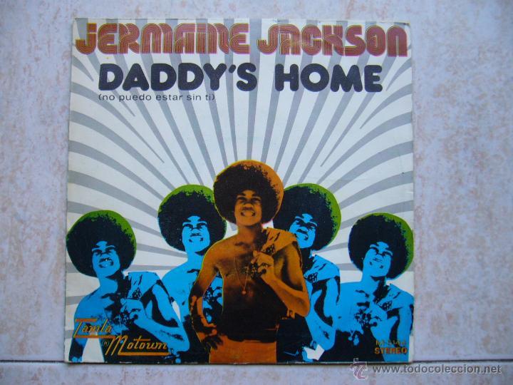 JERMAINE JACKSON - DADDY'S HOME (Música - Discos de Vinilo - Singles - Pop - Rock Extranjero de los 80)