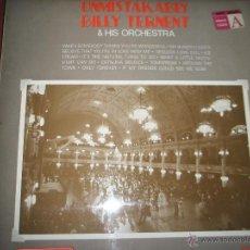 Discos de vinilo: LP-VINILO-BILLY TERNENT & HIS ORCHESTRA-REDIFUSIÓN-12 TEMAS-1970-PERFECTO ESTADO-.. Lote 44211351