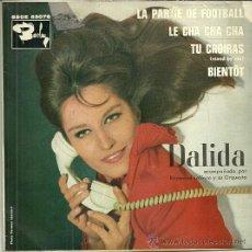 Dischi in vinile: DALIDA EP SELLO BARCLAY AÑO 1963 EDITADO EN ESPAÑA. Lote 44211694
