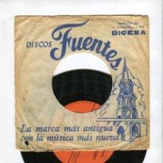 Discos de vinilo: CANTO A MI GUATEMALA /LUNA DE XELAJU CANTA LEONEL VACCARO IDECA (GUATEMALA). Lote 44215816