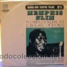 Discos de vinilo: MEMPHIS SLIM - AT THE GATE OF HORN. Lote 44221078