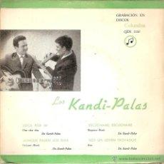 Discos de vinilo: LOS KANDI-PALAS - LOCA POR MI + 3 (EP DE 4 CANCIONES) COLUMBIA 1962 - VG+/VG+. Lote 44222320