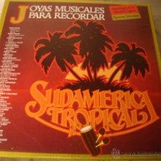 Discos de vinilo: DISCO TRIPLE LPS JOYAS MUSICALES PARA RECODAR. Lote 44223054