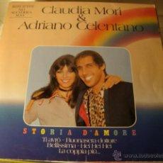 Discos de vinilo: DISCO CLAUDIA MORI ADRIANO CELENTANO. Lote 44223106