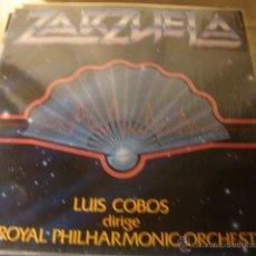 Discos de vinilo: DISCO ZARZUELA LUIS COBOS. Lote 44223287