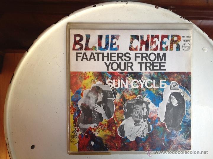 BLUE CHEER SG. FAATHERS FROM YOUR TREE+ SUN CYCLE (Música - Discos de Vinilo - Maxi Singles - Pop - Rock Internacional de los 50 y 60)