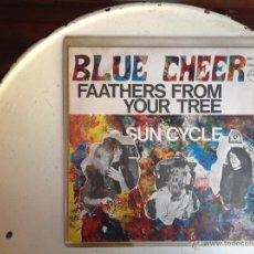 Discos de vinilo: BLUE CHEER SG. FAATHERS FROM YOUR TREE+ SUN CYCLE. Lote 44224360