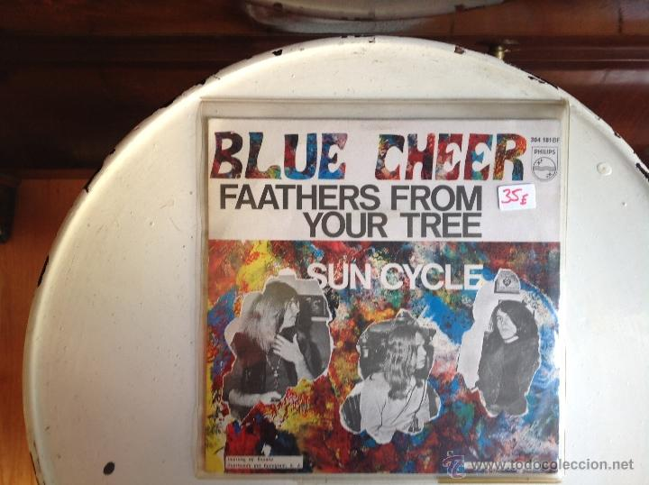 Discos de vinilo: BLUE CHEER sg. Faathers from your tree+ Sun cycle - Foto 2 - 44224360