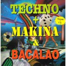 Discos de vinilo: TECHNO + MAKINA & BACALAO - DOBLE LP 1992 - DOBLE LP - BUEN ESTADO. Lote 44224661