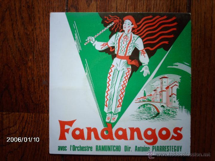RAMUNTCHO - FANDANGOS AVEC L´ORCHESTRE RAMUNTCHO (Música - Discos de Vinilo - EPs - Étnicas y Músicas del Mundo)