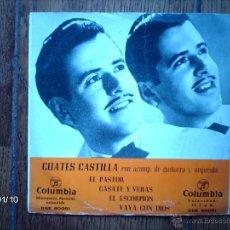 Discos de vinilo: CUATES CASTILLA - EL PASTOR + 3. Lote 44228528