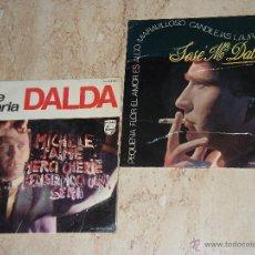 Discos de vinilo: JOSE MARIA DALDA- ( BEATLES) MICHELE+3 - MAS EP-PEQUEÑA FLOR+3-LOTE DOS EP. Lote 44228605