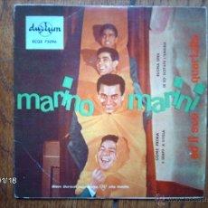Discos de vinilo: MARINO MARINI - COME PRIMA + 3 . Lote 44228628