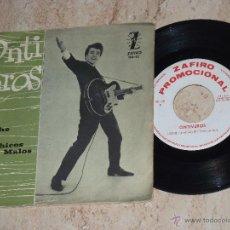Discos de vinilo: ONTIVEROS-ANOCHE / LOS CHICOS MALOS-1964- PROMOCIONAL-GALLETA BLANCA-. Lote 44229618