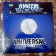 Discos de vinilo: VINILO MX AMAZIN´- AMAZIN´- COOL (2001) RAP HIP HOP USA. Lote 44229636