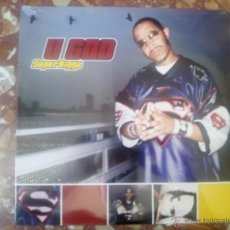 Discos de vinilo: VINILO MX U GOD - SUPERNIGGA (2003) RAP HIP HOP USA. Lote 44230438