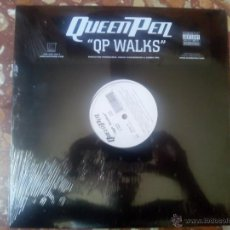 Discos de vinilo: VINILO MX QUEEN PEN - QP WALKS (2001) RAP HIP HOP USA. Lote 44230465